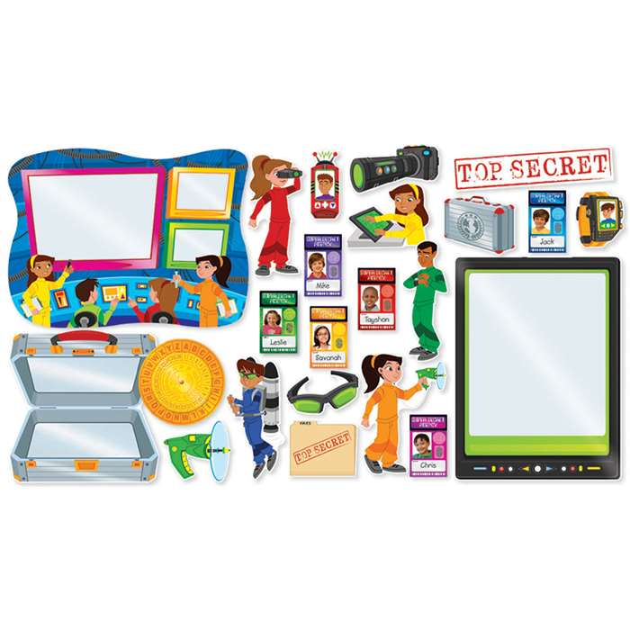 Shop Super Secret Agents Bulletin Board - Sc-565369 By Scholastic Teaching Resources