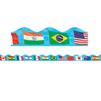 Shop Flags Scalloped Trimmer - Sc-565393 By Scholastic Teaching Resources