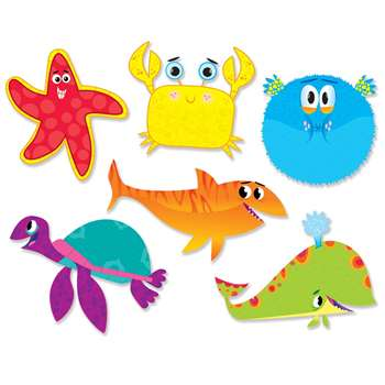 Shop Ocean Life Accents - Sc-565398 By Scholastic Teaching Resources