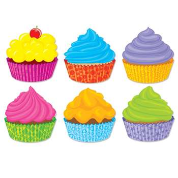 Shop Cupcakes Accents - Sc-565401 By Scholastic Teaching Resources