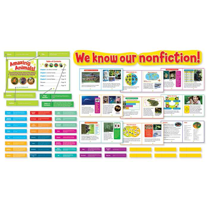 Shop Exploring Nonfiction Bulletin Board - Sc-565679 By Scholastic Teaching Resources