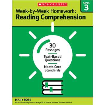 Homework Work Book Gr 3, SC-566887