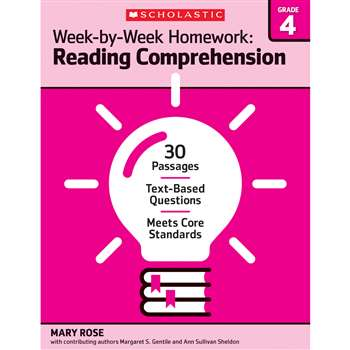 Homework Work Book Gr 4, SC-566888