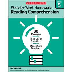 Homework Work Book Gr 5, SC-566889