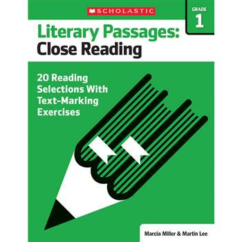 Literary Passages Close Reading Gr1, SC-579384