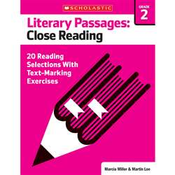 Literary Passages Close Reading Gr2, SC-579385
