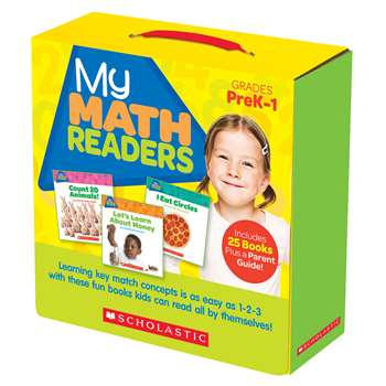 My Math Readers Parent Pack, SC-579996