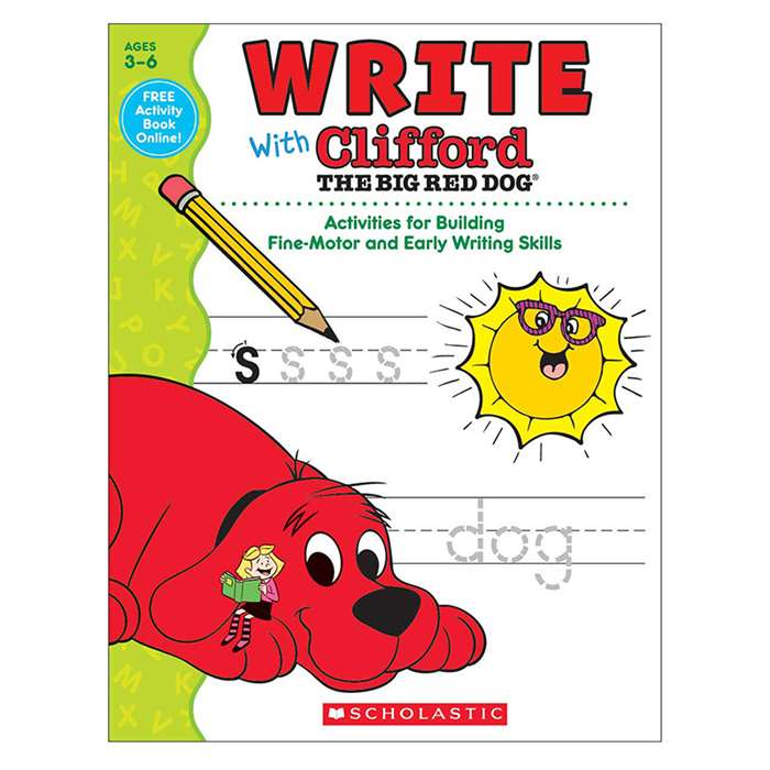 Write With Clifford The Big Red Dog, SC-581958
