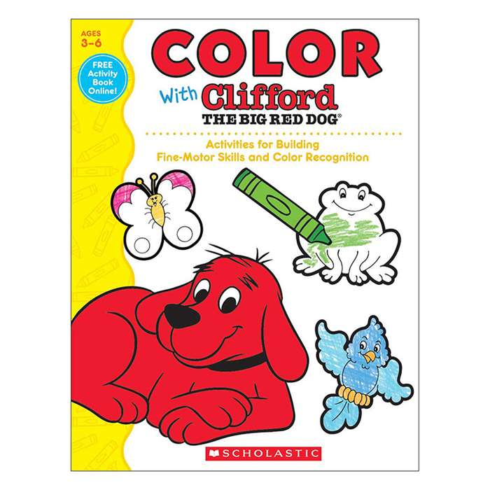 Color With Clifford The Big Red Dog, SC-581960