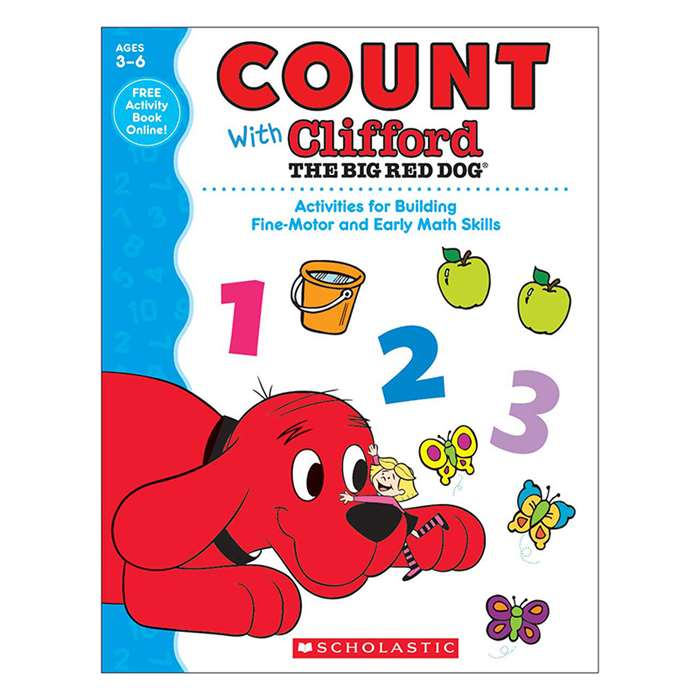 Count With Clifford The Big Red Dog, SC-581961