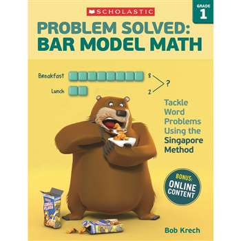 Problem Solved Bar Model Math Gr 1, SC-584009