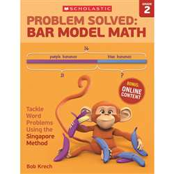 Problem Solved Bar Model Math Gr 2, SC-584010
