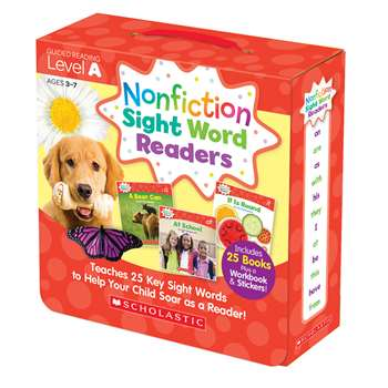 Nonfiction Sight Word Readers Lvl A Parent Pack, SC-584281