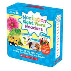 Nonfiction Sight Word Readers Lvl B Parent Pack, SC-584282