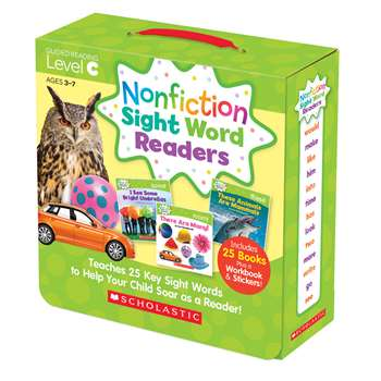Nonfiction Sight Word Readers Lvl C Parent Pack, SC-584283
