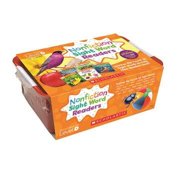 Nonfiction Sight Word Readers Lvl D Classroom Tub, SC-584288