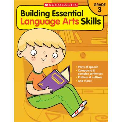 Gr 3 Building Essen Language Arts Skills, SC-585035