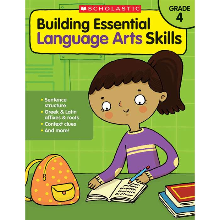 Gr 4 Building Essen Language Arts Skills, SC-585036