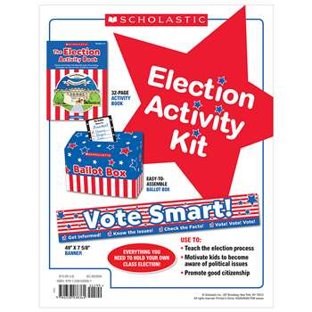Election Activity Kit Interactive Materials, SC-803836