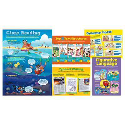 Early Language Arts Toolkit 5 Piece Poster St, SC-804631