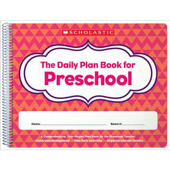 Daily Plan Book For Preschool, SC-806458
