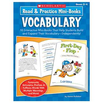 Read & Practice Mini-Books Vocabulary By Scholastic Books Trade