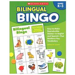 Bilingual Bingo By Scholastic Books Trade