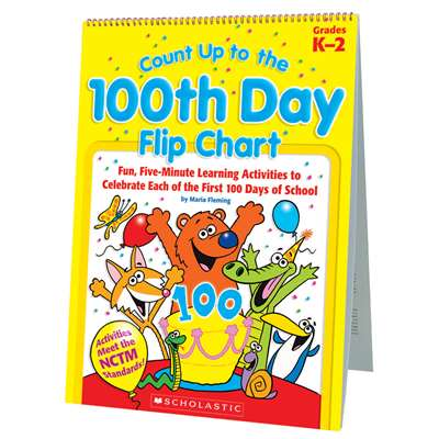 Count Up To The 100Th Day Flip Chart By Scholastic Books Trade