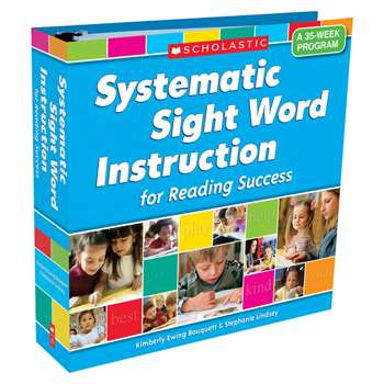 Systematic Sight Word Instr For Reading Success A 35 Week Program By Scholastic Books Trade