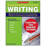 Standardized Test Practice Writing Gr 3-4 By Scholastic Books Trade
