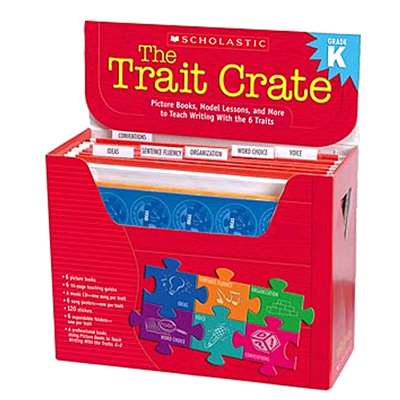 The Trait Crate Kindergarten By Scholastic Teaching Resources
