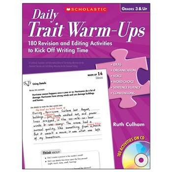 Daily Trait Warm-Ups By Scholastic Books Trade