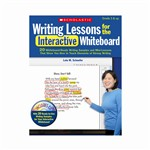 Writing Lessons For The Interactive Whiteboard By Scholastic Books Trade