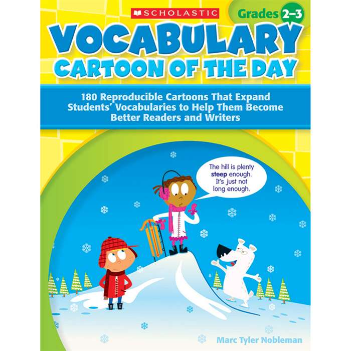 Vocabulary Cartoon Of The Day Gr 2-3 By Scholastic Books Trade