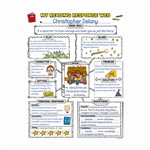 Graphic Organizer Posters Reading Response 3-6 By Scholastic Books Trade