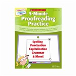 Interactive Whiteboard Activities 5-Minute Proofreading Gr 4-8 By Scholastic Books Trade