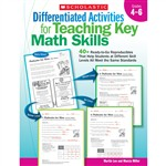 Differentiated Activities For Teaching Key Math Skills Gr 4-6 By Scholastic Books Trade