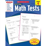 Scholastic Success Math Tests Gr 4, SC-9780545200653