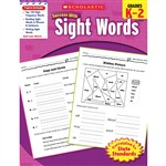 Scholastic Success With Sight Words By Scholastic Books Trade