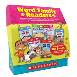 Word Family Readers Set By Scholastic Books Trade