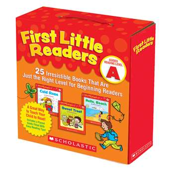 First Little Readers Parent Pack Guided Reading Level A By Scholastic Books Trade