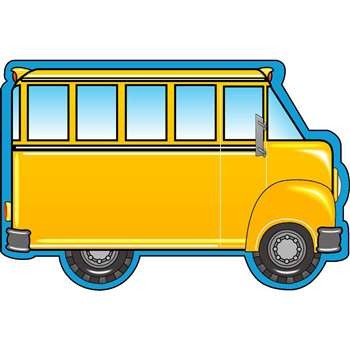 Notepad Large School Bus By Shapes Etc