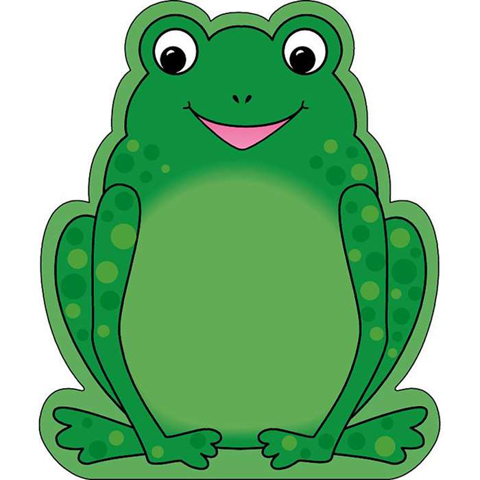 Notepad Large Frog By Shapes Etc