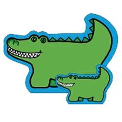 Notepad Large Alligator By Shapes Etc