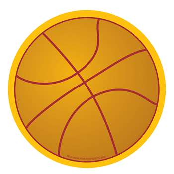 Creative Shapes Notepad Basketball Large By Creative Shapes Etc