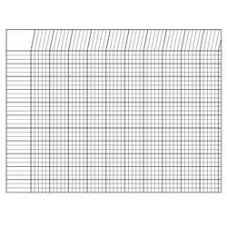 Incentive Chart Horizontal White 28 X 22 By Shapes Etc