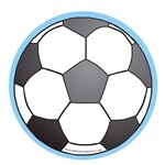 Creative Shapes Notepad Soccerball Large By Creative Shapes Etc