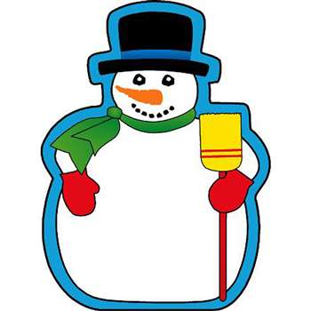 Notepad Mini Snowman By Shapes Etc