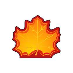 Mini Notepads Maple Leaf By Shapes Etc