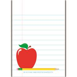 Mini Notepads Notepaper By Shapes Etc